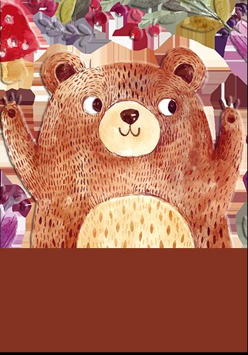 CSAB00 胖胖大熊與刺蝟 原創館 創感品味